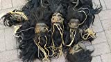 Daprofe Shrunken Head Includes One(1) 5 Inch Black Haired Head Similar to Those Shown in Photo