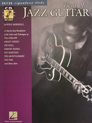 Best Of Jazz Guitar Signature Licks (Book / CD): Noten, CD für Gitarre