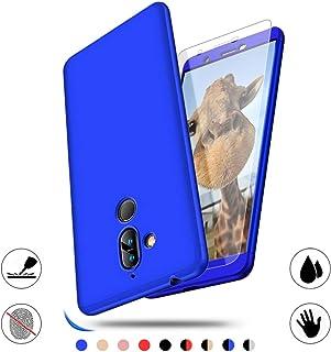 Nokia 7 Plus fodral, AChris fodral för Nokia 7 Plus 360 graders skydd smal PC telefonfodral stötabsorberande antifingeravt...
