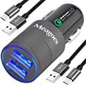 Meagoes Fast USB C Car Qualcomm Quick Charge 3.0 Port Charging Adapter