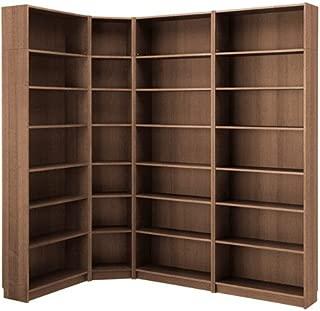 Ikea Bookcase, brown ash veneer 14204.171726.2214