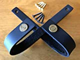 VERDICT BRACKETS 30-06 - Gun Rack Shotgun Hooks Rifle Hangers Gun Hooks, Wall Mount Gun Safe Storage Heavy Duty (1 Pair) Gun Hooks, Black, Mounting Screws & Instructions Included