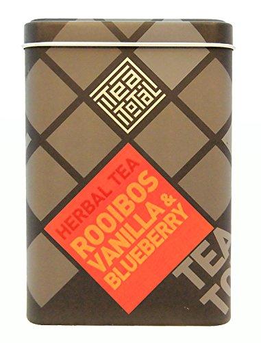 Tea total (ティートータル) / ルイボス バニラ ブルーベリー 100g入り缶タイプ ニュージーランド産 (ルイボスティー / ハーブティー / フレーバーティー / ノンカフェイン) [並行輸入品]