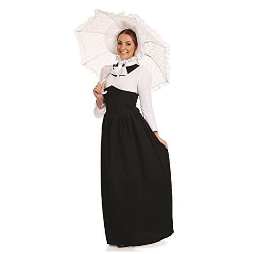c4229caecdc651 Ladies Victorian Lady Book Day Historical Full Length Fancy Dress Costume  Outfit UK 8-30