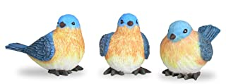 BANBERRY DESIGNS Bluebird Figurines Set of 3 Styles 4 Inch