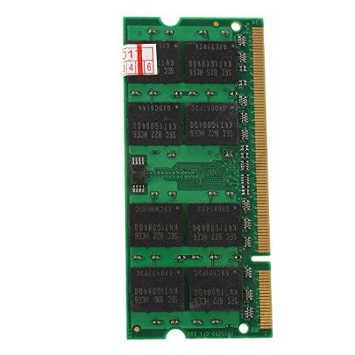 TOOGOO (R) 2x 2GB PC2-5300 DDR2 677MHZ Laptop-Gedaechtnis