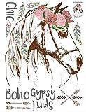 Wandaufkleber Pferd Kopf Aufkleber Dekorative Kreative Abnehmbare Wand Aufkleber Aufkleber Wand-dekor