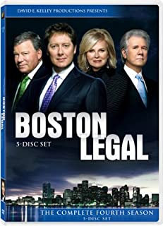 Boston Legal: Season 4 (B002XLGODG) | Amazon price tracker / tracking, Amazon price history charts, Amazon price watches, Amazon price drop alerts