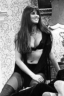 Caroline Munro in Dracula A.D. 1972 Busty Black Bra Sexy Costume Hammer pin up 24x18 Poster
