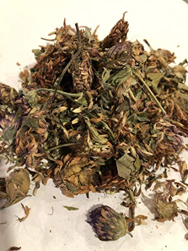 Organic Bio Herbs-Organic Dried Red Clover Flowers (Trifolium Pratense) 6 Oz.