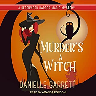 Murder's a Witch audiobook cover art