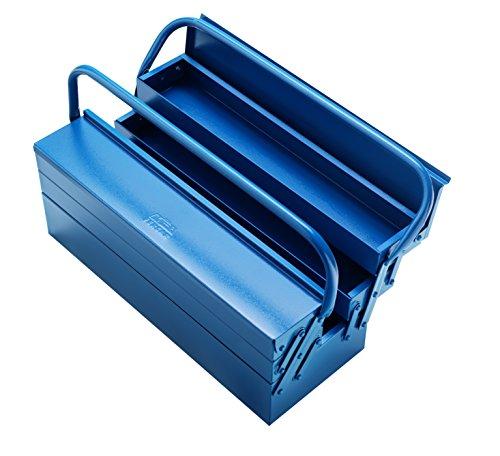 Caixa de ferramentas tipo safona 3 gavetas 40 cm, Eda, 4EC, Preto