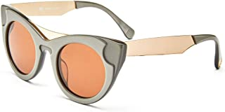 ILL.I Optics by will.i.am Oversized Cat-Eye Acetate Sunglasses