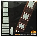 Fretboard Markers Inlay Stickers Decals for Guitars & Bass - LP SG Blocks - White Pearl