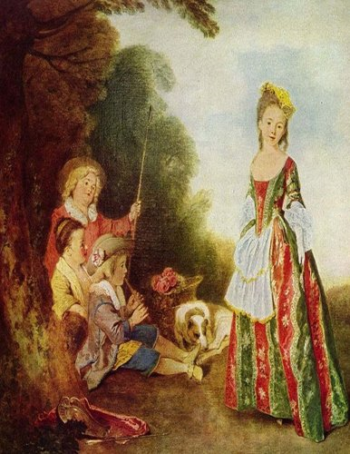 Music & Lyrics: All-in-One Journal for Musicians: Antione Watteau