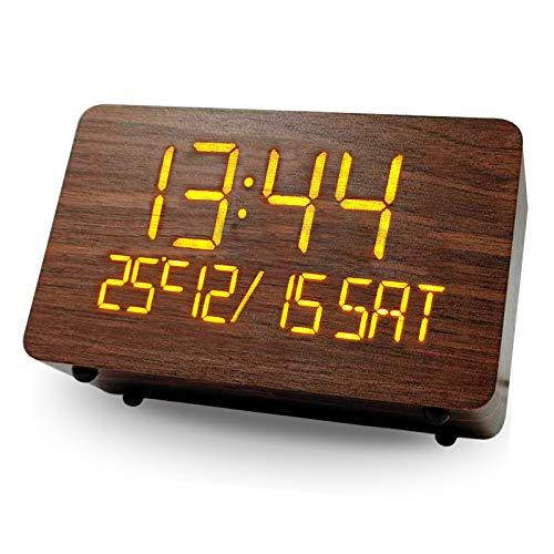 Despertador Digital Madera  marca WANFH