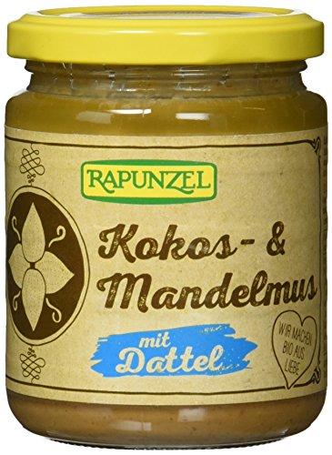 Rapunzel Kokos- & Mandelmus mit Dattel, 3er Pack (3 x 250 g)