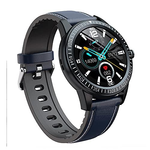 Orologi intelligenti per uomo donna, orologio fitness tracker con monitor del sonno, schermo tattile completo da 1,28 pollici, impermeabile IP67, orologio intelligente per telefoni Android e iOS