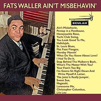 Fats Waller Ain't Misbehavin'