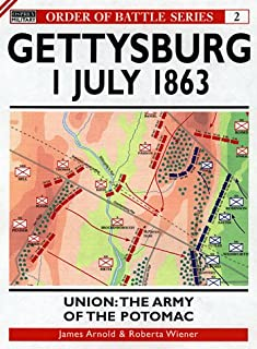 Gettysburg July 1 1863: Union: The Army of the Potomac (Order of Battle)
