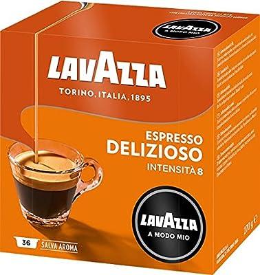 Lavazza Modo Mio Delizioso Capsules Coffee Pods 36's (2 Boxes)