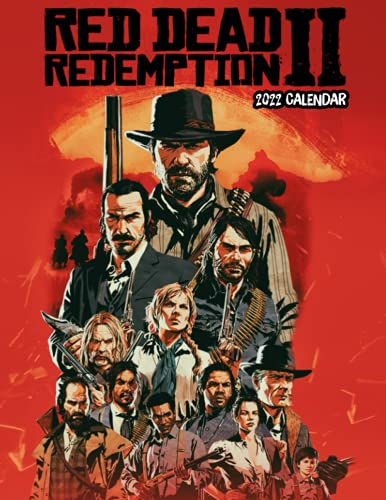 Red Dead Redemption 2 Calendar 2022: OFFICIAL game calendar. This incredible cute calendar july 2021 to december 2022 with high quality pictures .Gaming calendar 2021-2022. Calendar video games