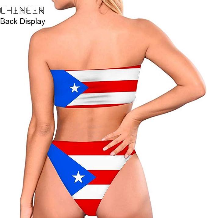 Voqeen Mujeres Push Up Traje de ba/ñoTwo-Pieces Bikini de Cintura Baja Traje de ba/ño Ajustable Trajes de ba/ño de Playa