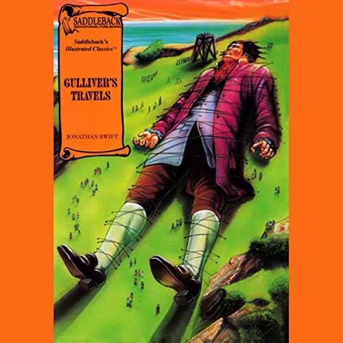 Gulliver's Travels audiobook cover art