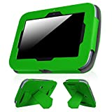 Fintie Case for Leapfrog Epic - Premium PU Leather Standing Carrying Cover with Car Headrest Mount Holder Function for Leapfrog Epic/Leapfrog Epic Academy Edition 7' Android-Based Kids Tablet, Green