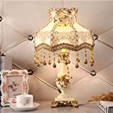 WDCKXY. Lámpara de noche CreativeB Home Decoration Luz Dormitorio Princesa Habitación Cálida Lámpara de mesa Estilo: Moda