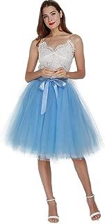 Light Blue Tutu Skirt