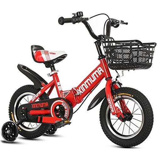 GAOLIQIN Bicicleta Plegable para Niños, para Niños Y Niñas, 12