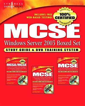 MCSE Windows Server 2003 Boxed Set: Study Guide and DVD Training System