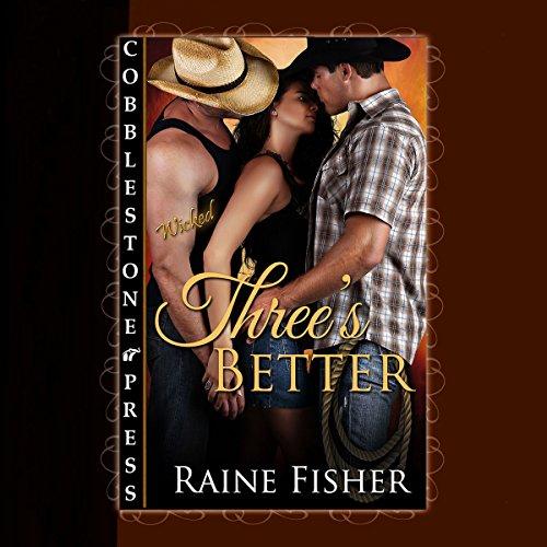 Three's Better audiobook cover art