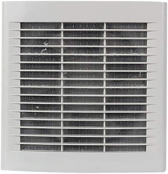 GANFANREN Exhaust Fan Electric shutters Discount mail order Glass Ba Tucson Mall Round Wall Hole