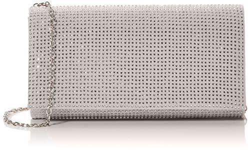 Tamaris Damen Ornella Clutch, Silber (Silver), 5.5x10x20 cm