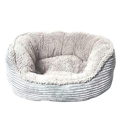Bed House Round Soft Warm Pad Mode Hundebett Zwinger Kleine Katze Haustier Welpe...