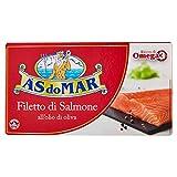 Asdomar - Filetti Di Salmone, All'Olio Di Oliva - 150 G