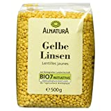 Alnatura Bio Gelbe Linsen, 6er Pack (6 x 500 g)
