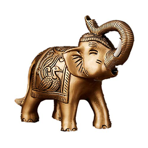 Feng Shui Resin Elephant Ganesh Statue Symbol of Power...