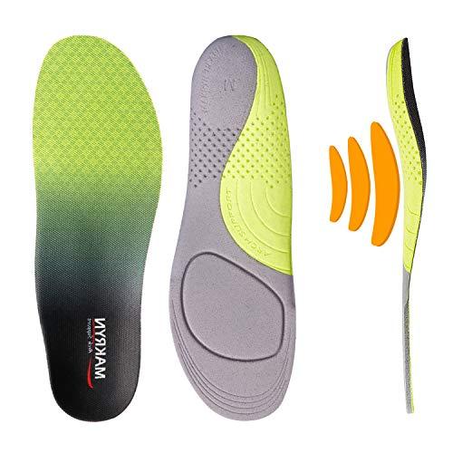 Makryn Adjustable Plantar Fasciitis Feet Inserts-Orthotic Shoe...