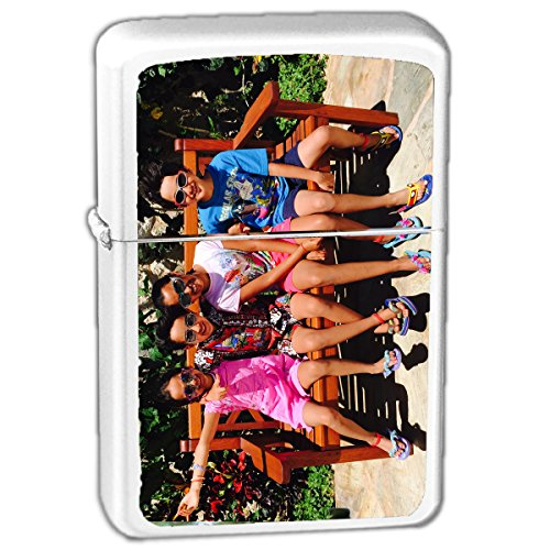 Personalized Lighter Sticker Add Your Photo, Logo, Or Text Vinyl Lighter Sticker Custom Customizable Gift - Pack of 2 Stickers Lighter NOT Included