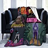 Manta Throw Blanket Eartha Kitt Ultra Soft Air Conditioning Bed Blankets Cozy Flannel Blankets for Couch Bed Living Room for All Seasons