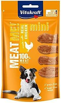 Vitakraft Meat Me! Mini Poulet Friandise Snack à la Viande Qualité Premium pour Chien 60 g