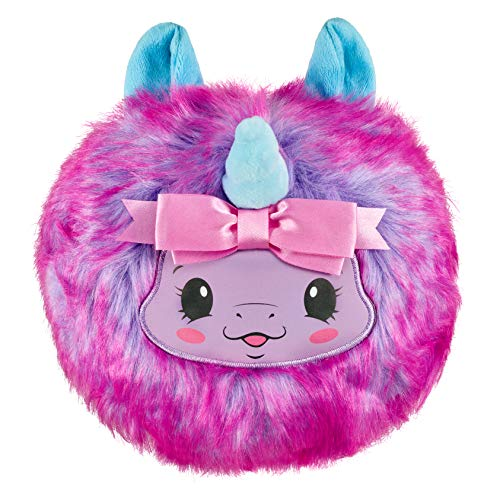 Pikmi Pops Cheeki Puffs - Cheekles The Unicorn - 1pc Large 7u0022 Collectible Scented Shimmer Plush Toy in Perfume with Surprises
