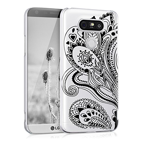 kwmobile Cover per LG G5 / G5 SE - Custodia Rigida Trasparente per...