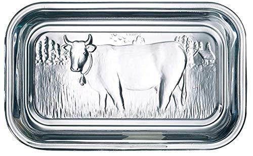 Arc International Luminarc Cow Butter Dish, 6-1/2-Inch by 2-3/4-Inch
