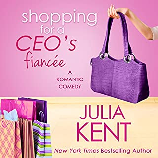 Shopping for a CEO's Fiancee audiobook cover art