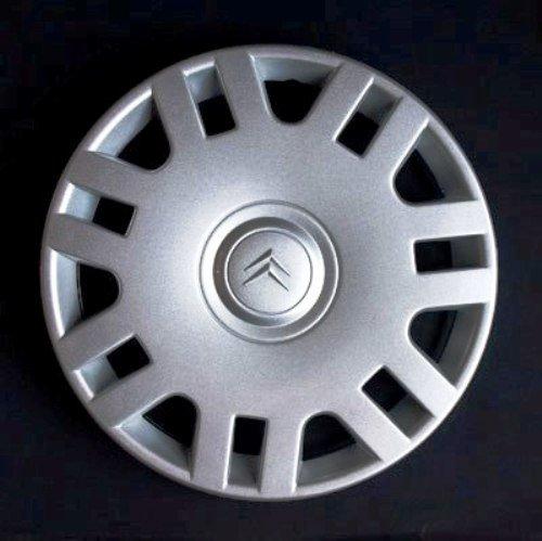 Wheeltrims Set de 4 embellecedores nuevos para Citroen C3 / C1 / C2 / C4 / C5 / C8 / Nemo/Berlingo/Xsara Picasso con Llantas Originales de 14''