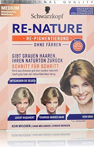SCHWARZKOPF RE-NATURE Re-Pigmentierung ohne Färben, Frauen Medium, 1er Pack (1 x 145 ml)